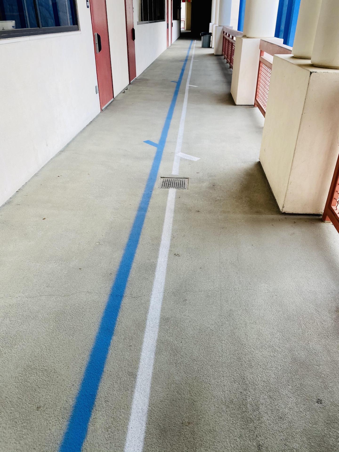 Floor Markings - SMHS