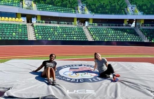 Claire Kieffer-Wright at 2021 US Olympic Trials