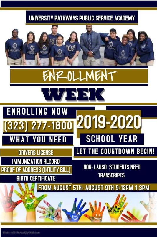 Enrollment Week Featured Photo