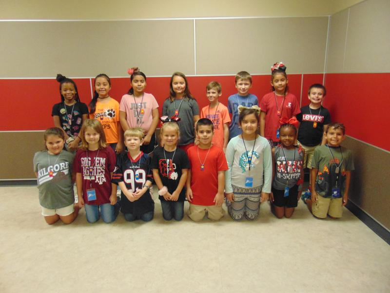 2nd Grade September Student of the Month Featured Photo