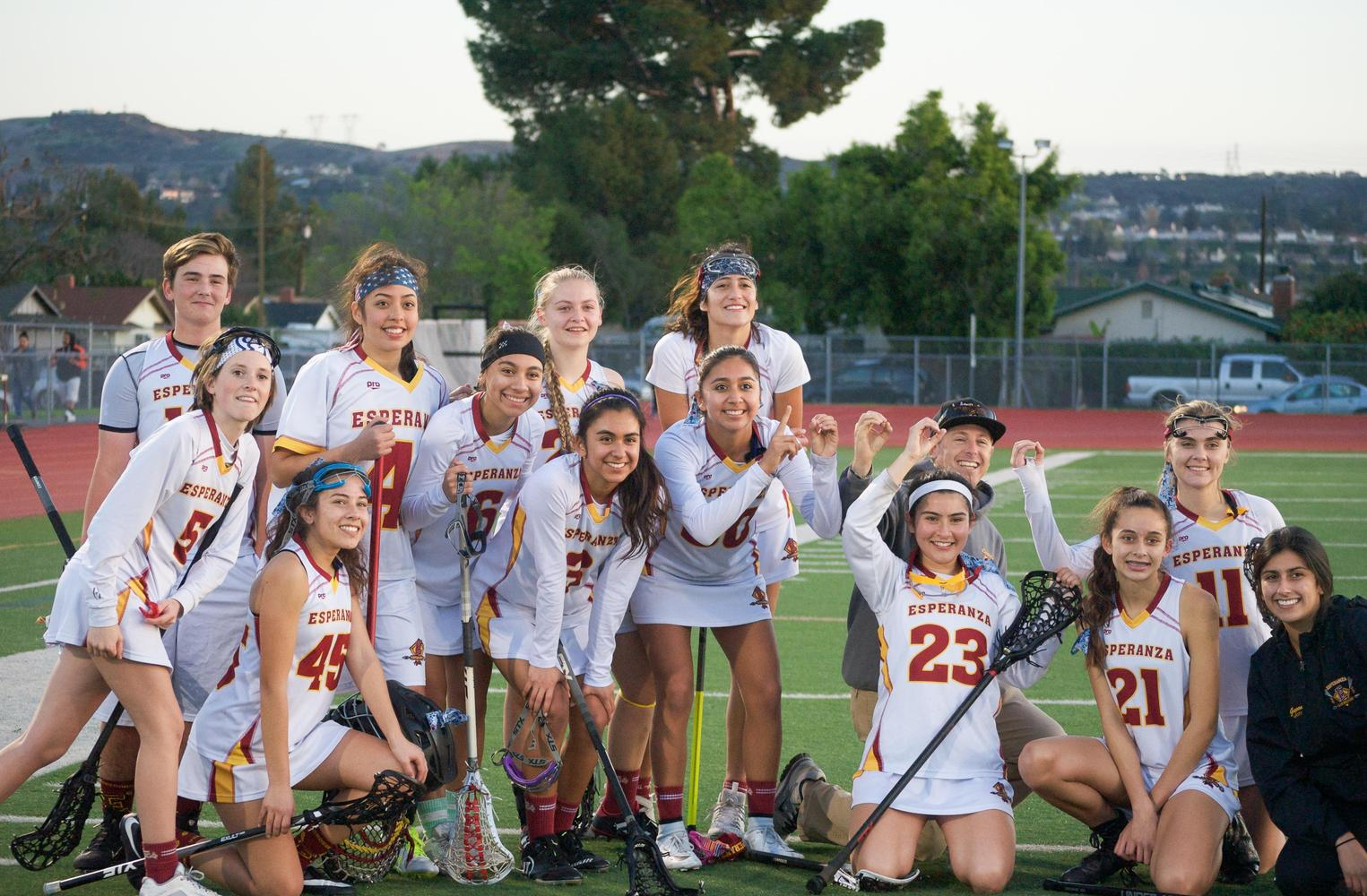 Esperanza LAX players.