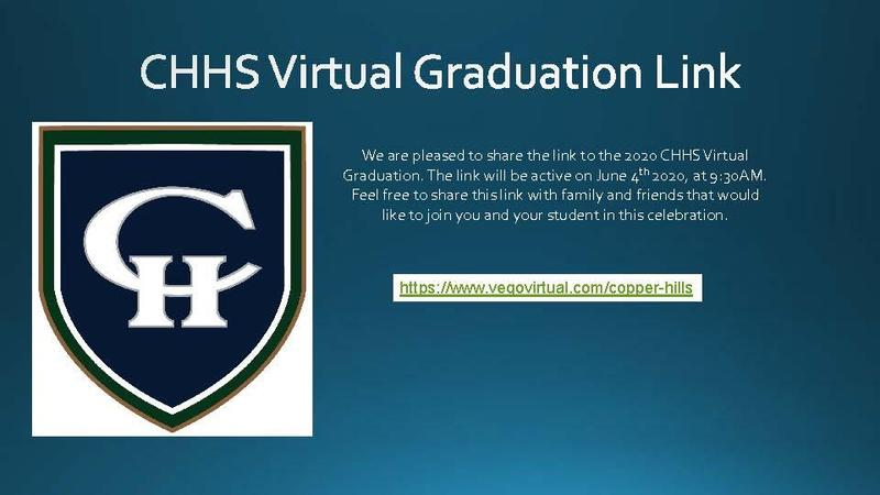 CHHS Virtual Graduation Link