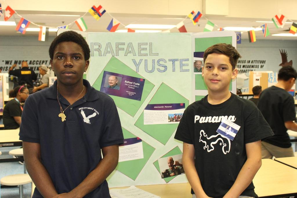 two boys by their research on rafael yuste
