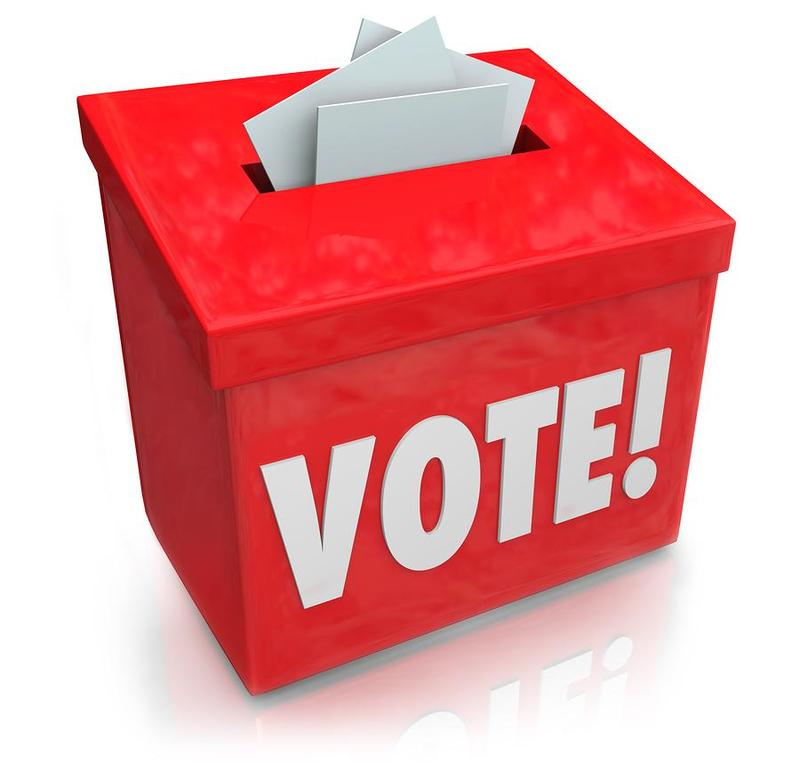 Red Vote Box