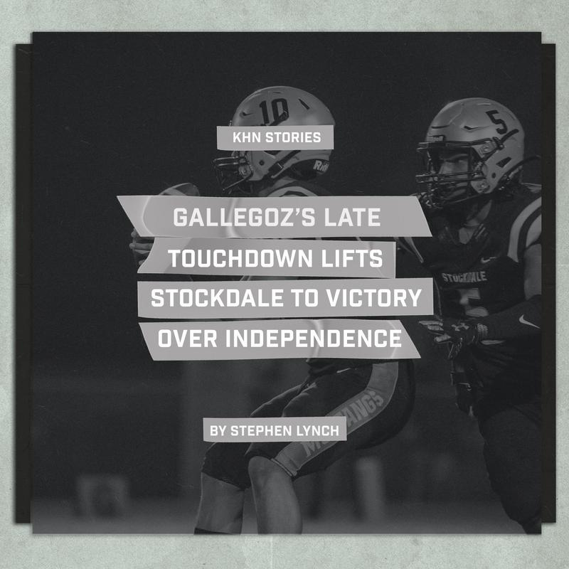 Gallegoz's late touchdown lifts Stockdale to victory over Independence Thumbnail Image
