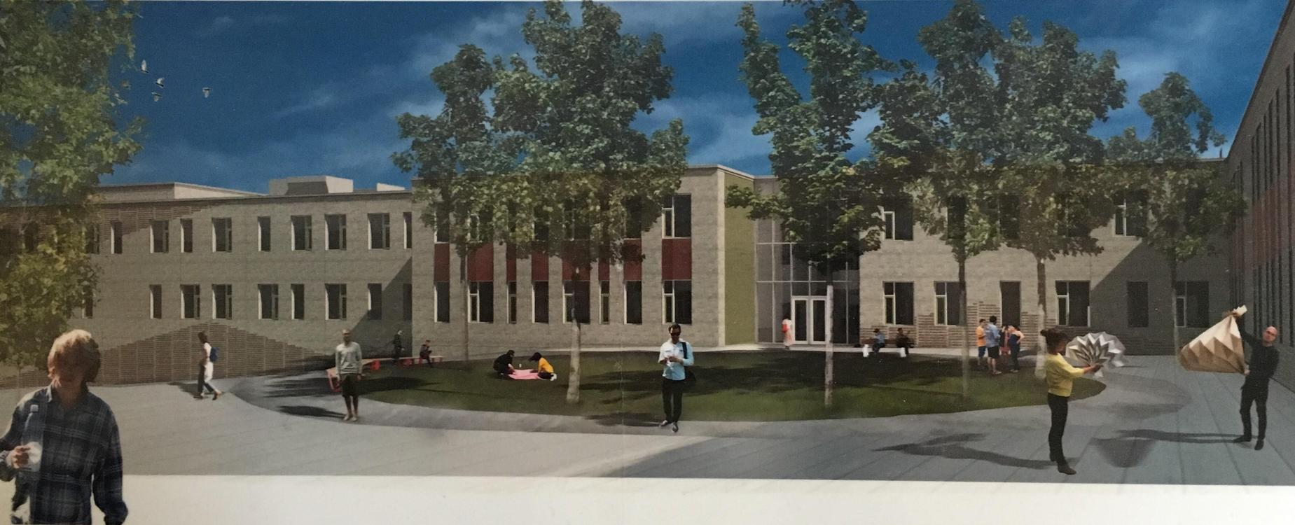 DHS CTC Building drawing