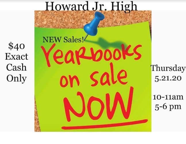 graphic describing yearbook sale