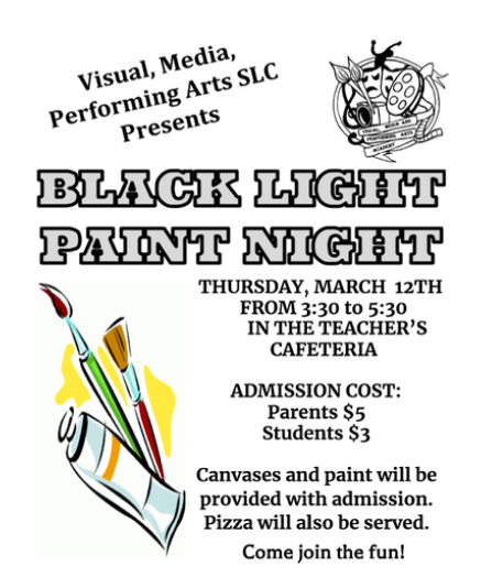 Black Light Paint Night
