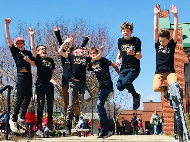 Odyssey of the Mind State Finals April 6, 2019