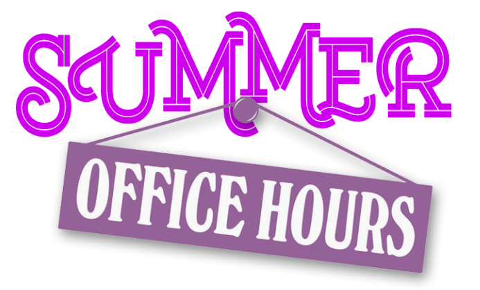 Clip art of office hours