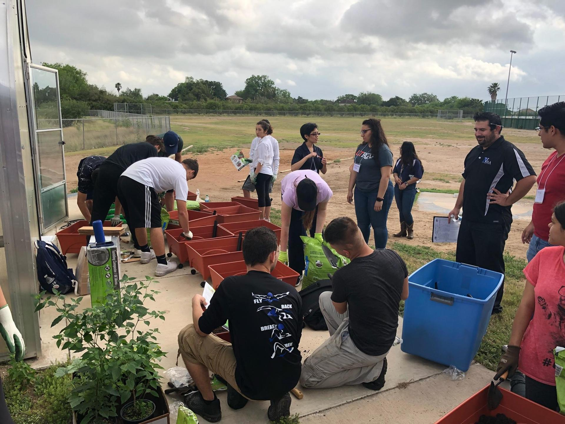ECHS and STEM Greenhouse