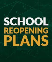 School Reopening Letter