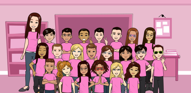 Mrs. Davey's Class Wears PINK to Support Anti-Bullying Thumbnail Image