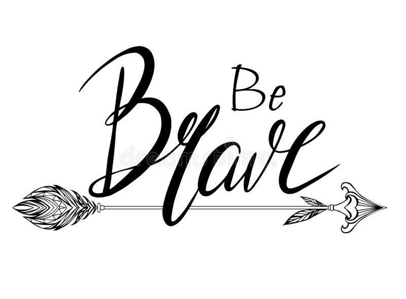 be brave logo