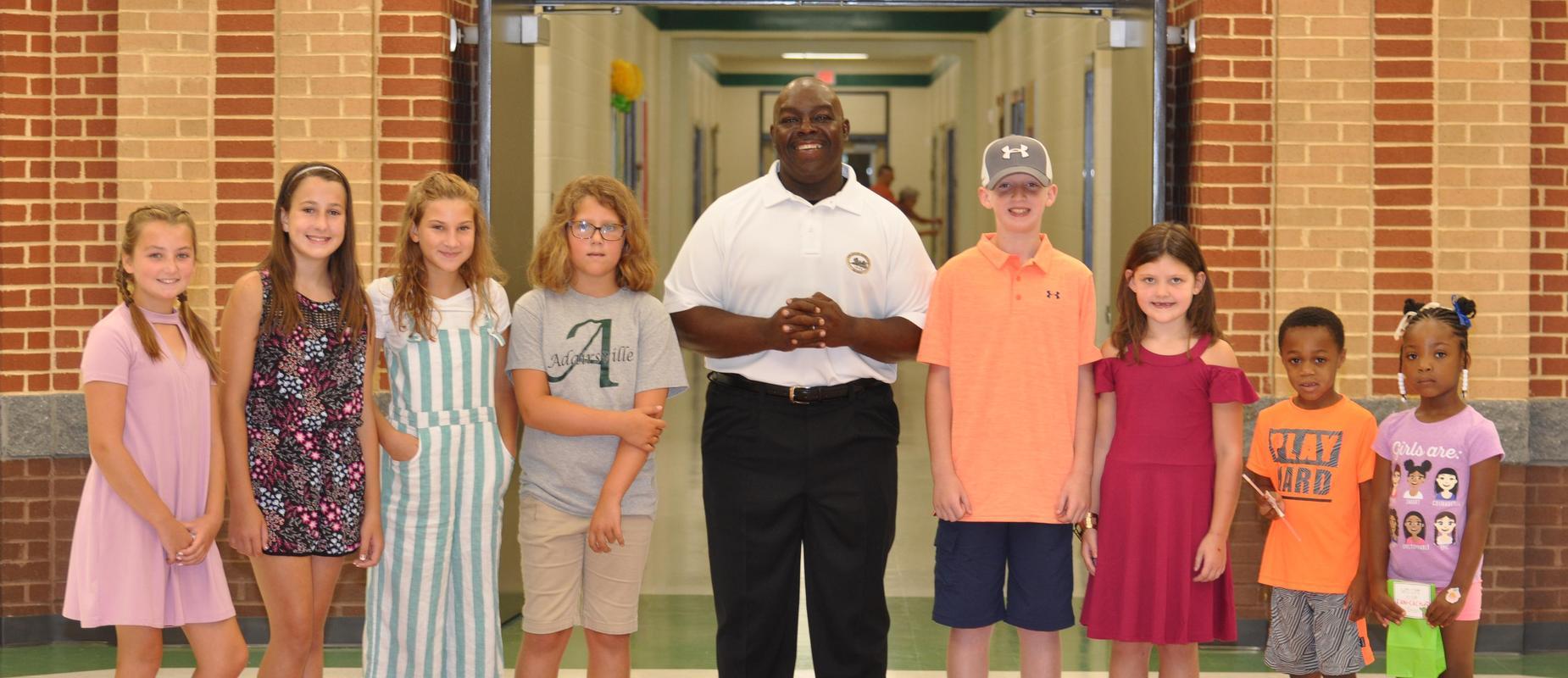 Adairsville mayor visits AES