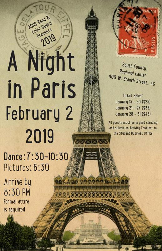 A Night In Paris 2019