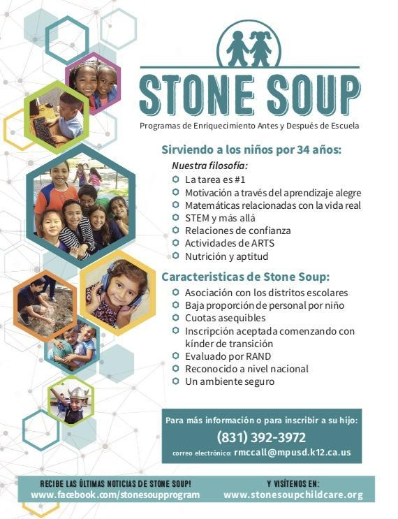 Spanish Stone Soup Flyer
