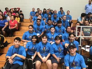 Mission CISD Bocce Tournament players.