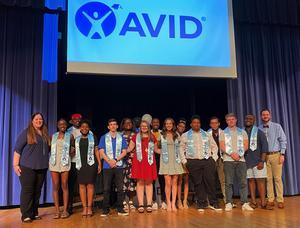 AVID's first graduating class