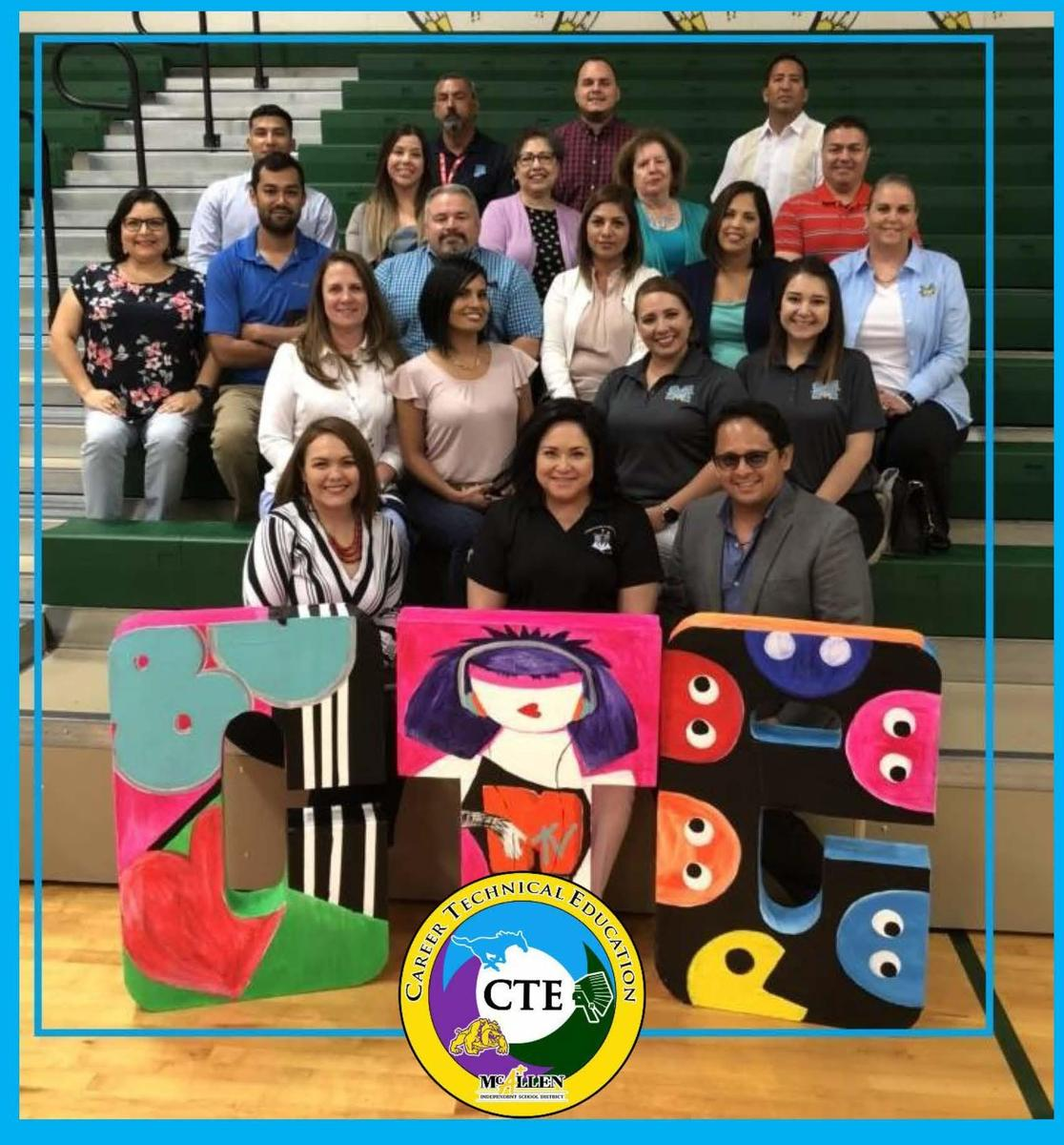 CTE teachers group picture