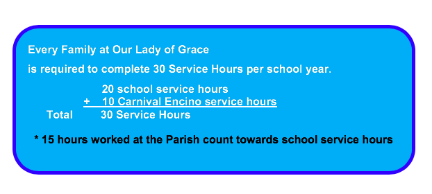 Family Service Hours