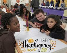 Happy Thanksgiving from the Residential Program