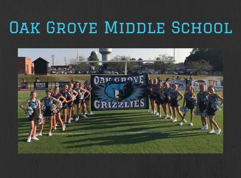 Oak Grove Middle Cheerleaders