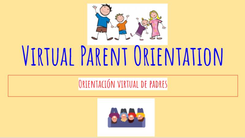 Virtual Parent Orientation