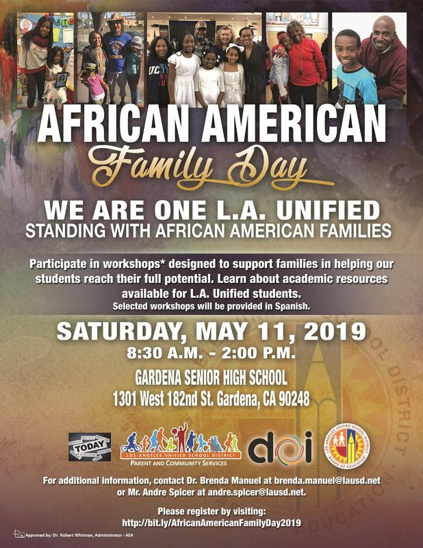 African-American Family Day Featured Photo