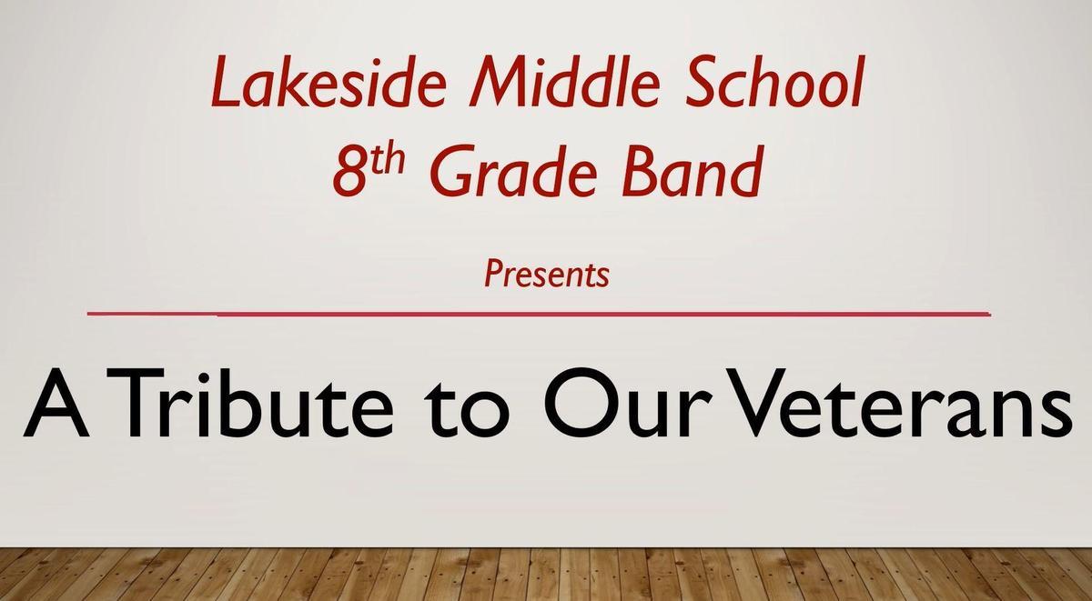 2020 Veterans Day Concert