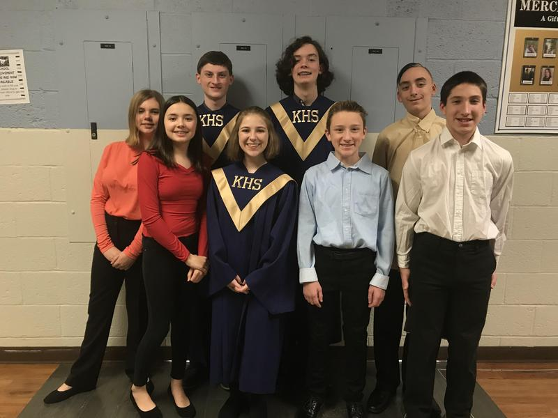 pic of kids who attended chorus fest