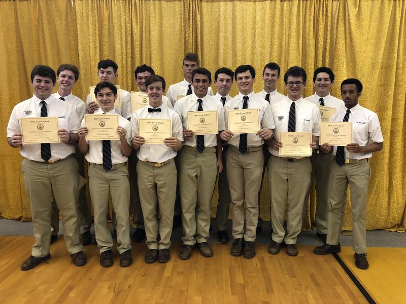 Holy Cross Recognizes Top ACT and AP Exam Scorers Featured Photo