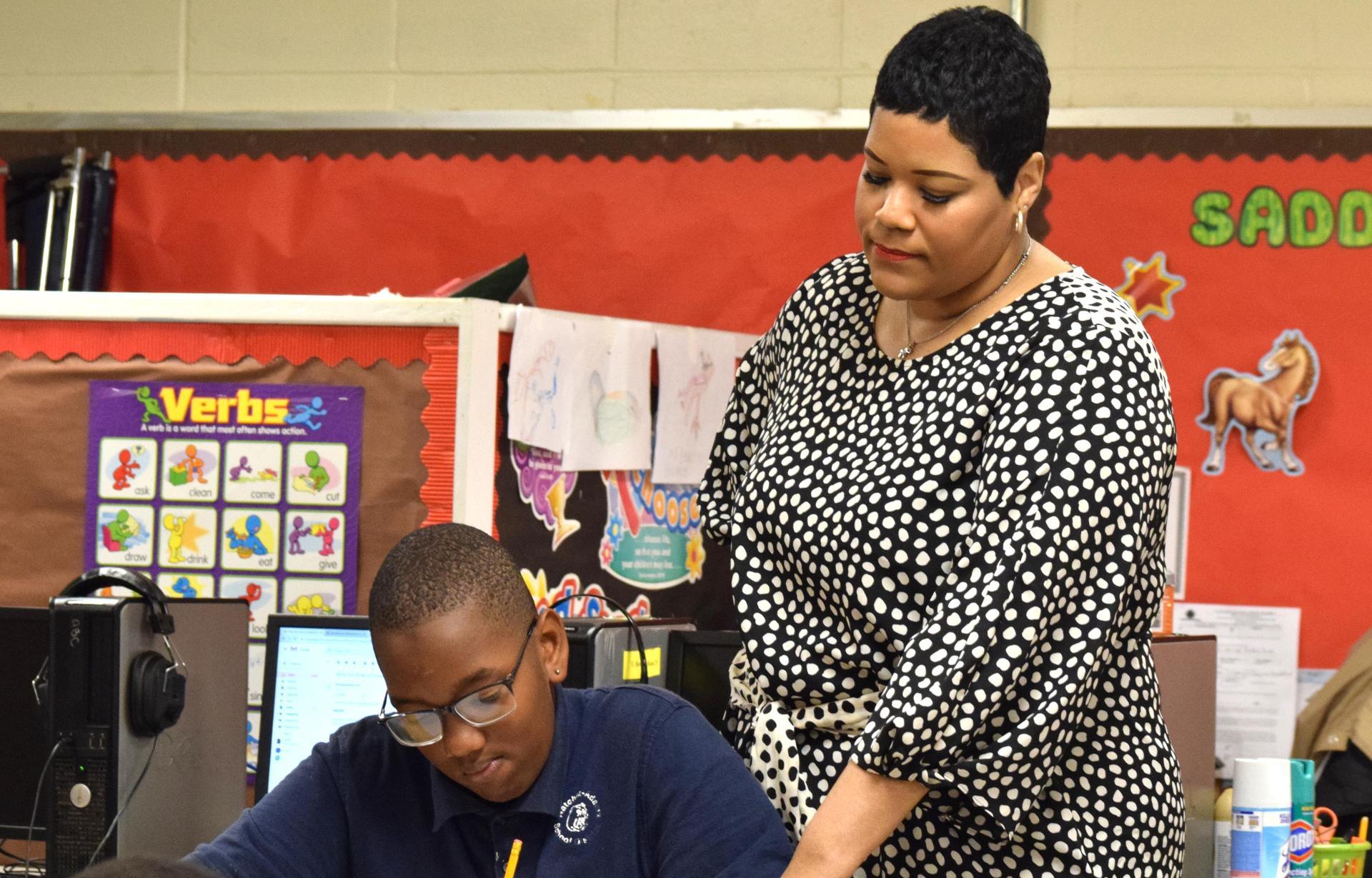 Erica Bowman 2020 Teacher of the Year, Morgantown Middle School