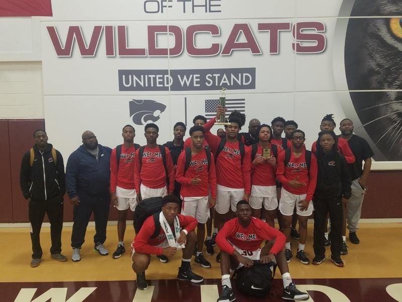 a photo of the Baker High School Boys Basketball Team
