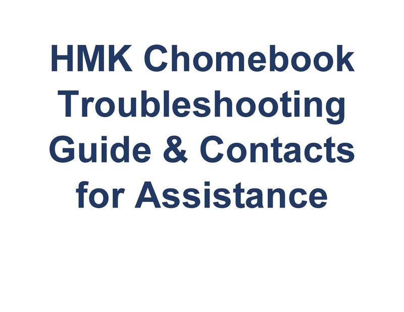 HMK Chomebook Troubleshooting Guide & Contacts for Assistance Featured Photo