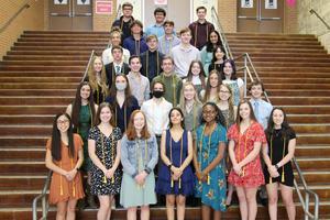 SVHS Top 5 percent graduates 2021