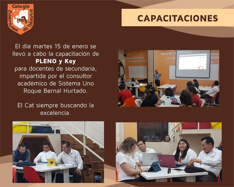 Capacitación PLENO y Key Featured Photo