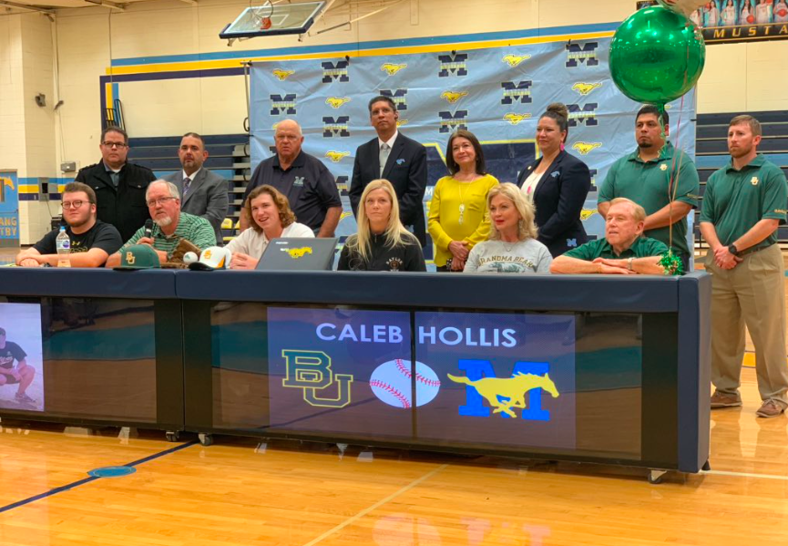 Caleb's Signing