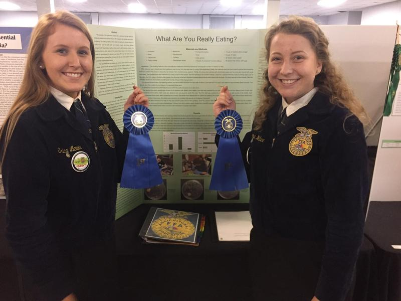 THS Agriscience Fair Winners