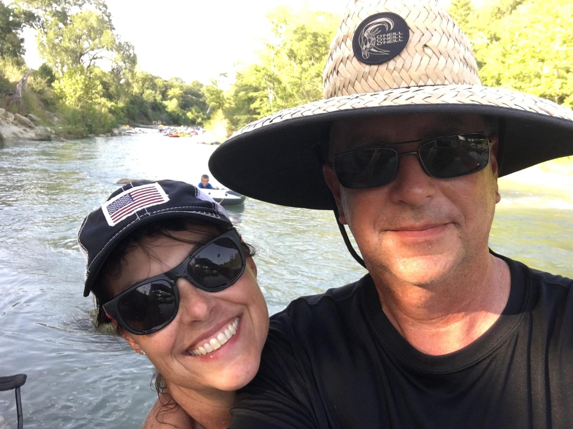 Fun times on the San Marcos River!