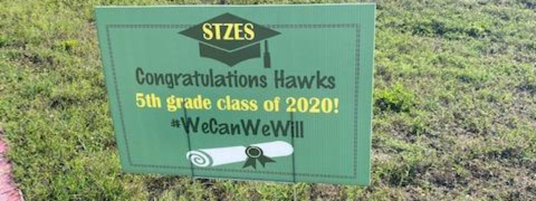 Congratulations 5th Grade Class