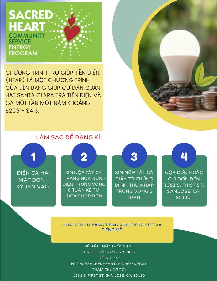sacred heart low income energy saving program
