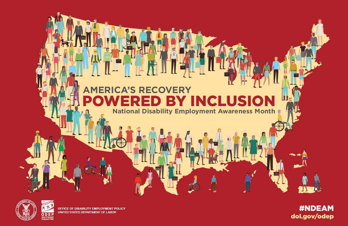 October is National Disability Awareness Month