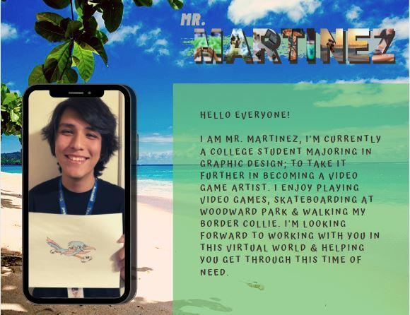 Meet Mr. Martinez!