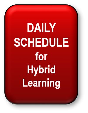 Daily Schedule for Hybrid Learning