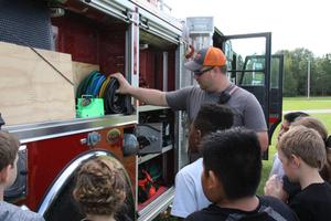 Lexington Three Students Learn About Fire Safety