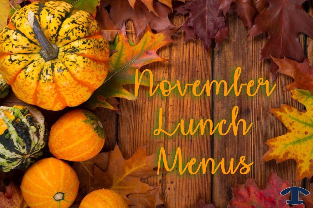 November Lunch Menus