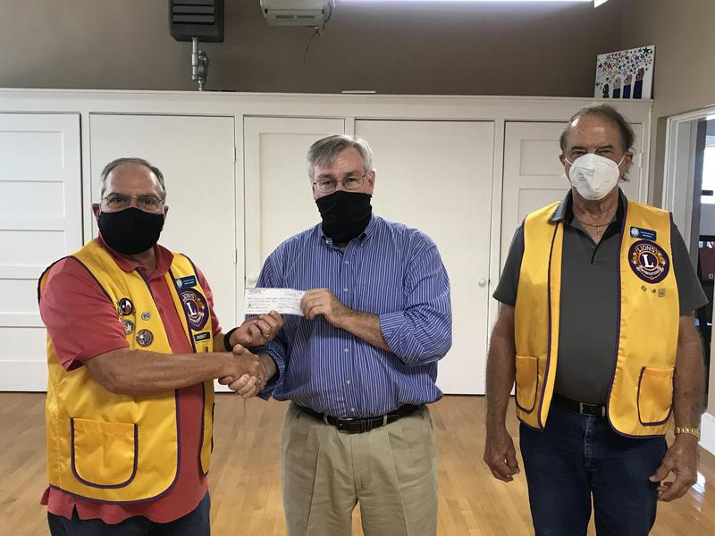 Lion's Club Donation Featured Photo