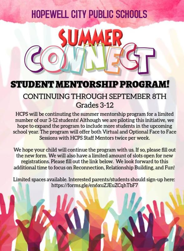 Summer Connect Flyer