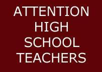 ATTN HS Teachers